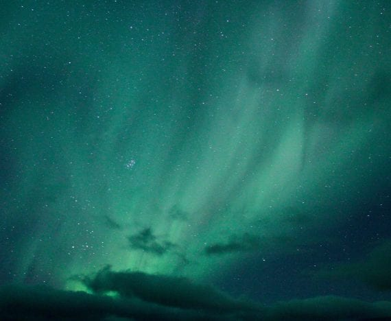 See the Northern Lights, Travel to Iceland