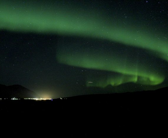 nothern lights viewing in iceland