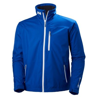 shop for helly hansen crew midlayer jacket olympian blue