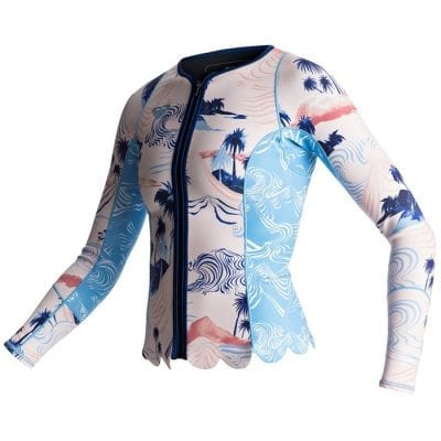 shop for roxy 1mm pop surf long sleeve front zip